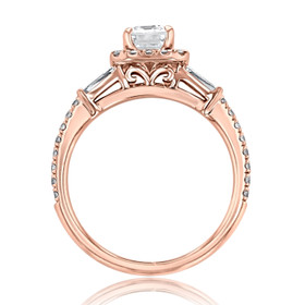 Gabriel NY Halo Engagement Ring (GC26R)
