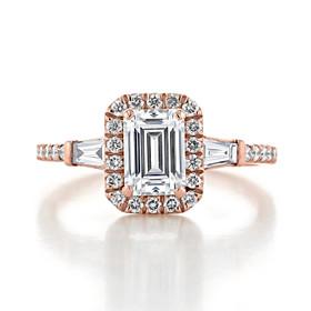 Gabriel NY Halo Engagement Ring (GC26R)