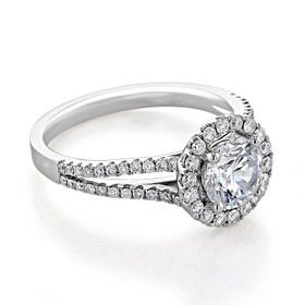 Halo Engagement Ring (MR16)