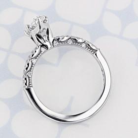 Tacori Coastal Crescent Marquise Shape Diamond Engagement Ring (2006615)