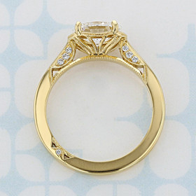 Simply Tacori Oval Shape Diamond Engagement Ring (2006807)