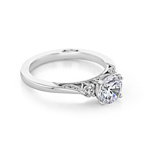 Simply Tacori Engagement Ring (2656RD65W)