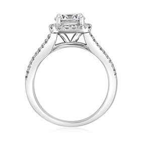 Halo Engagement Ring (DC60)