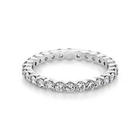 Shared Prong Wedding Band (CJ21)