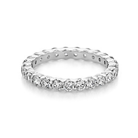 Shared Prong Wedding Band (CJ24)