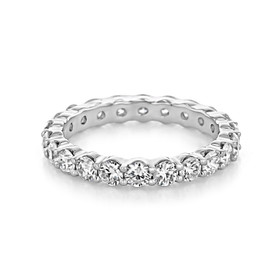 Shared Prong Wedding Band (CJ27)