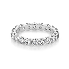 Shared Prong Wedding Band (CJ30)