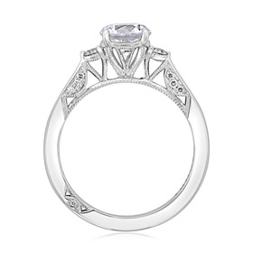 Simply Tacori Moissanite Engagement Ring (2656RD65-M)