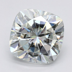 1.70 Ct. Cushion Forever One Charles and Colvard Moissanite (GM04612)