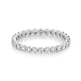 Shared Prong Wedding Band (LB146)