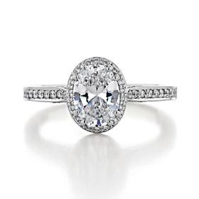 Tacori Dantela Engagement Ring (2620OVSMP)
