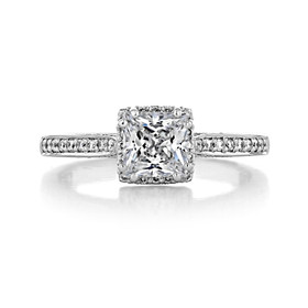 Tacori Dantela Engagement Ring (2620PRSMPW)