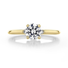 .90 ct Round Solitaire Yellow Gold Engagement Ring (2005232-YG)