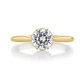 1 ct Danhov Classico 6-Prong Yellow Gold Engagement Ring  (CL105-YG)