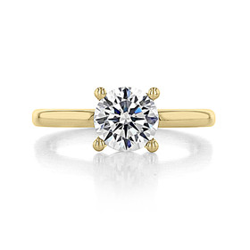 1.25 ct Gabriel Solitaire Yellow Gold Engagement Ring (ER14982-125-YG)