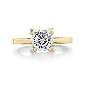 1.25 ct Simply Tacori Yellow Gold Engagement Ring (2584RD7-YG)
