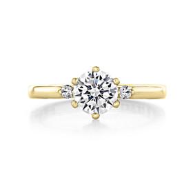 1 ct Simply Tacori Yellow Gold Engagement Ring (56-2RD65-YG)