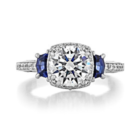 Tacori Dantela Engagement Ring (2628RDSP)