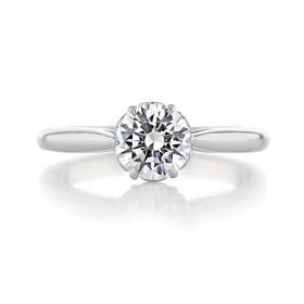 1 ct Danhov Classico 6-Prong Platinum Engagement Ring  (CL105-PL)