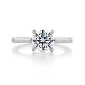 1.25 ct Gabriel Solitaire Platinum Engagement Ring (ER14982-125-PL)