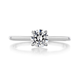 .50 ct Round Solitaire Platinum Engagement Ring (SO72-PL)
