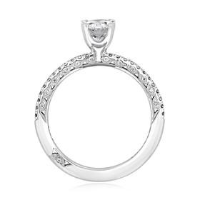 Tacori Petite Crescent Engagement Ring (HT254515OV)