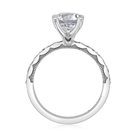 Tacori Sculpted Crescent Engagement Ring  (46-3RD75)