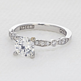 Tacori Sculpted Crescent Engagement Ring (47-2RD65)