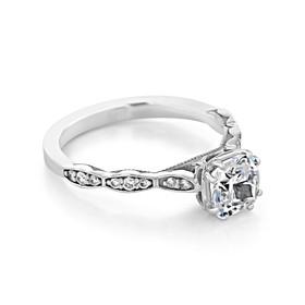Tacori Sculpted Crescent Engagement Ring (57-2CU6)