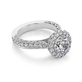 Tacori RoyalT Engagement Ring (HT2605RD85)