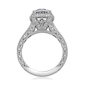 Tacori RoyalT Engagement Ring (HT2607RD85)