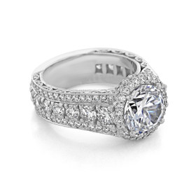Tacori RoyalT Engagement Ring (HT2613RD9)