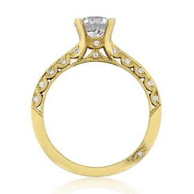 Tacori Classic Crescent Engagement Ring (2616RD65)