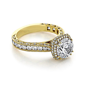 Tacori RoyalT Engagement Ring (HT2607RD8)