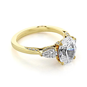 Tacori RoyalT Engagement Ring (HT2628OV10X8Y)