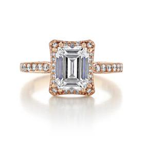Tacori Dantela Engagement Ring (2620ECLGP)