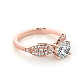 Tacori Ribbon Engagement Ring (2648RD65)
