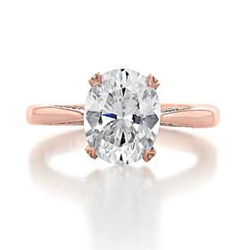 Tacori RoyalT Engagement Ring (HT2625OV10X8)