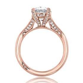 Tacori RoyalT Engagement Ring (HT2625OV10X8)
