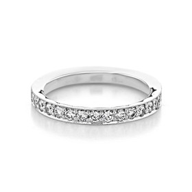 Tacori Sculpted Crescent Wedding Band (41-25)
