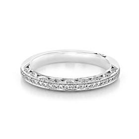 Tacori Classic Crescent Wedding Band (2616B)