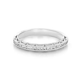 Tacori Reverse Crescent Wedding Band (2617B1/2W)
