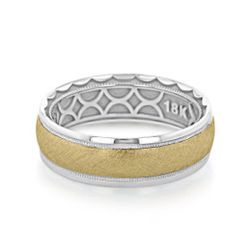Tacori Sculpted Crescent Wedding Band (130-7WYB)