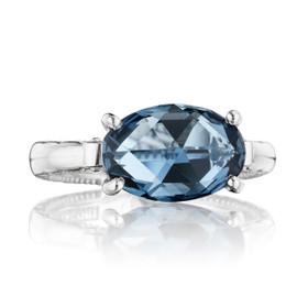 Gemma Bloom London Blue Topaz Fashion Ring (SR13933)