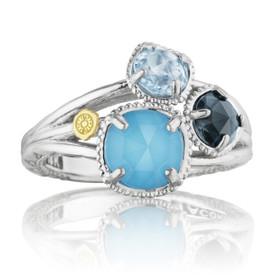 Gemma Bloom Assorted Gemstones Fashion Ring (SR136050233)