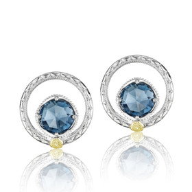 Gemma Bloom London Blue Topaz Fashion Earrings (SE14033)