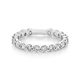 Shared Prong Wedding Band (LB145)