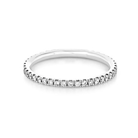 Micro-Prong Wedding Band (CJ101)