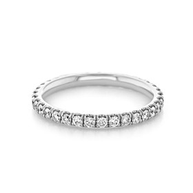 Micro-Prong Wedding Band (LB115)