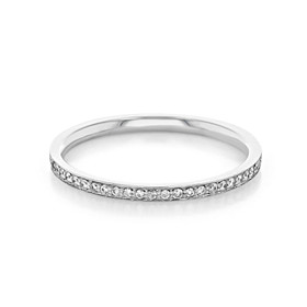 Pavé Wedding Band (CJ112)